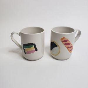 Kate Spade set of 2 matching mugs